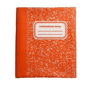 Image of MARBLE iPAD SLEEVE ORANGE