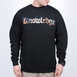 Image of Knowledge Crewneck (Black)