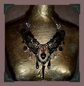 Image of Insomniac Heart ♥ Lace Necklace~!
