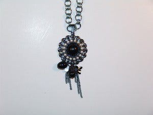Image of Pearled Pendant Necklace