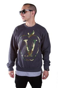 Image of CAMO APPLE CREWNECK