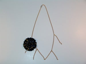 Image of Flower Dangle Chain
