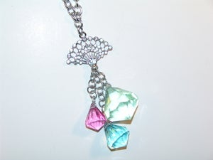 Image of Fan Jewels Necklace