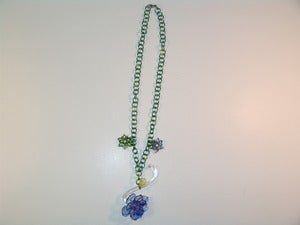 Image of Delicate Flower Garden Necklace