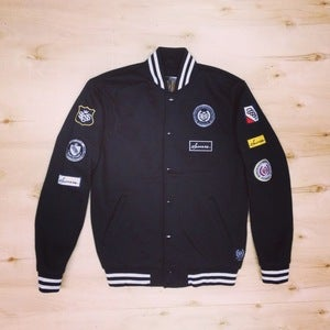 Image of The Scout Varsity Jacket (Men-Black)