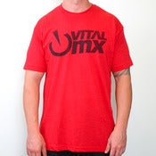 Image of Vents Logo T-shirt, Red