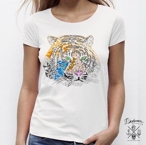 Image of T-shirt femme Tigers i have known