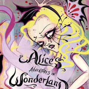 Image of Alice in Wonderland book (signed copy)