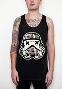 Image of Love Trooper Black Tank