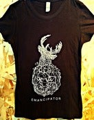 Image of Emancipator Women's Geo Deer Shirt (Brown)