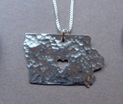 Image of Iowa State Necklace