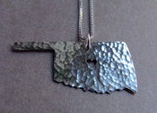 Image of Oklahoma State Necklace