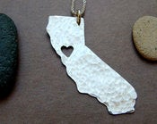 Image of California State Necklace