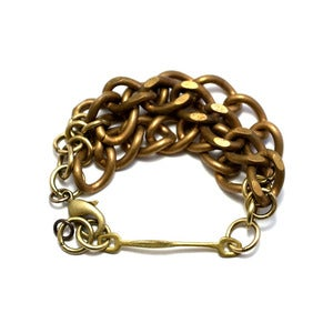 Image of triple crescent bracelet