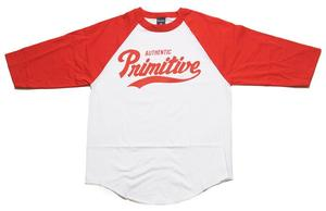 Image of Primitive - Dugout Raglan - Red