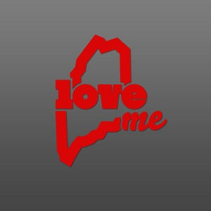 Image of LoveME - Die-Cut Sticker