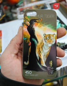 Image of AMUR _SILENT Iphone4 cover