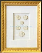 Image of In stock: special spring collection of framed intaglios, design as seen (1)