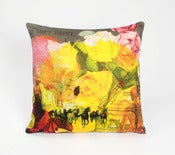 Image of Laura Oakes: She's Happy Cushion