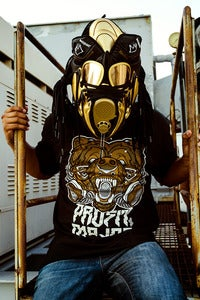 "Image of 20x30 Print- Reebok ""Basquiat"" Omni Pump Lite Gas Mask"