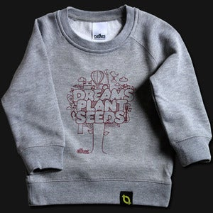 Image of Dreams Plant Seeds - Grey Kids Crew