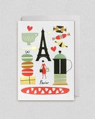 Image of Paris Gold Foil Card