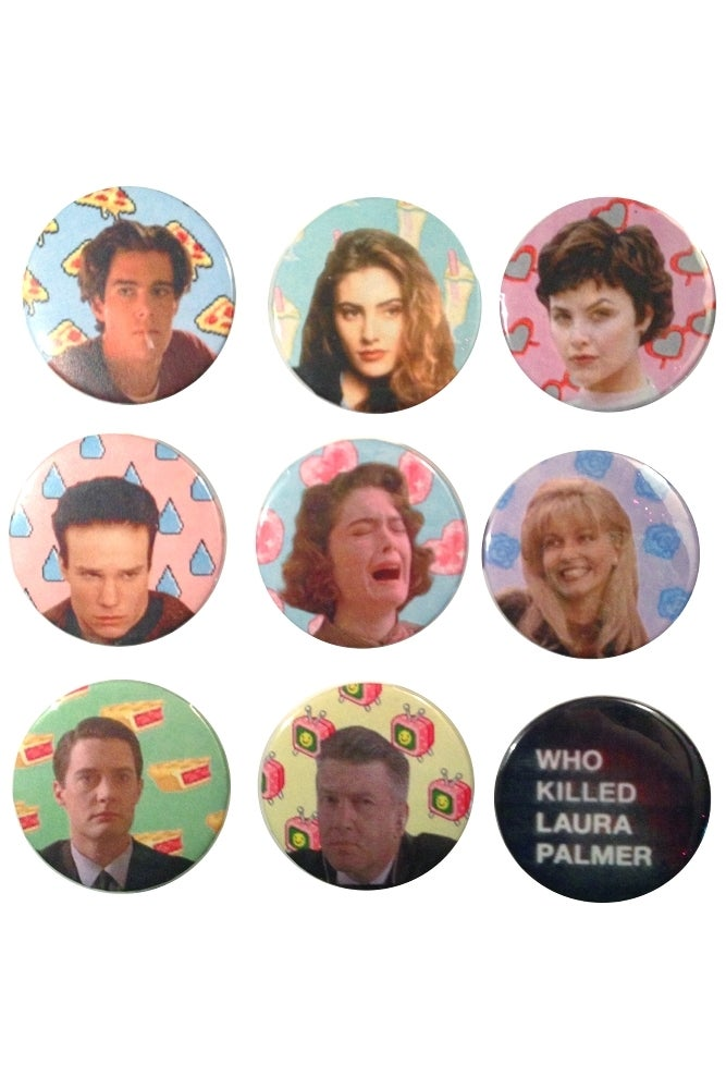 Image of TWIN PEAKS BUTTONS II