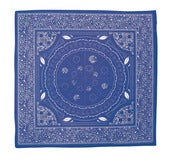 Image of pizza bandana: royal blue