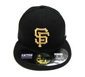 "Image of SF GIANTS ""WS GOLD CHAMPS"" NEW ERA FITTED"