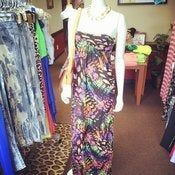 Image of Strapless Maxi Dress