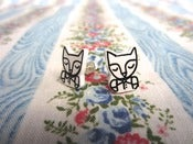Image of Foxy Boy Earrings