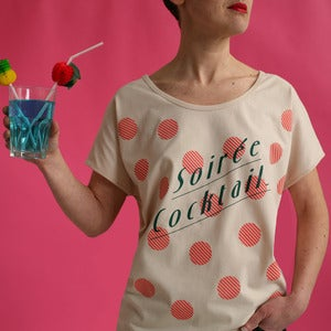 Image of Tee-shirt Soirée Cocktail - DUETTE