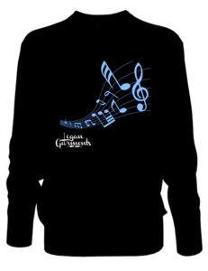 Image of LG Music Jumper Black/Blue