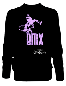 Image of LG BMX Jumper Black/Purple