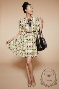 Image of Coccolily Lolita Dress (Yellow Print)