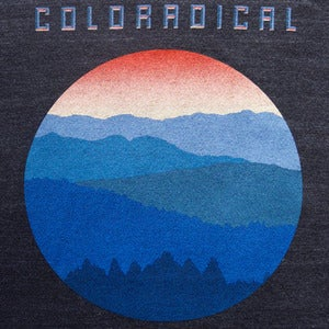 Image of Coloradical Sunset T-Shirt