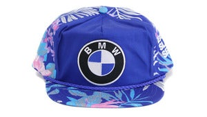 Image of BMW HAWAIIAN SNAPBACK - BLUE