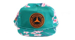Image of BENZ HAWAIIAN SNAPBACK - GREEN