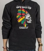 Ground Up Chiefin' Spring Hoodie (Grey)