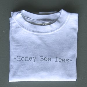 Image of Honey Bee Tees Long-Sleeved Logo Tee