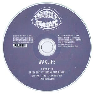 Image of Waxlife - Clocks EP (CD single)