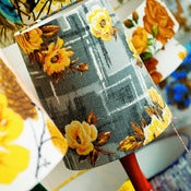 Image of Josie Barkcloth Lampshade