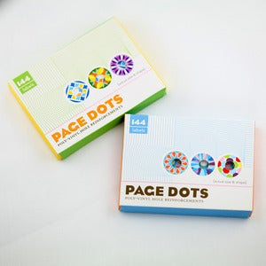 Image of Page Dots Hole Reinforcements