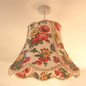 Image of Mavis Scallop Bell Lampshade