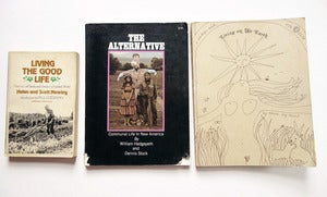 Image of 3 Vintage Books On Living Off The Grid, Homesteading, and Being Self-Sufficient