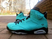 "Image of Air Jordan VI ""Tiffany"" Custom"