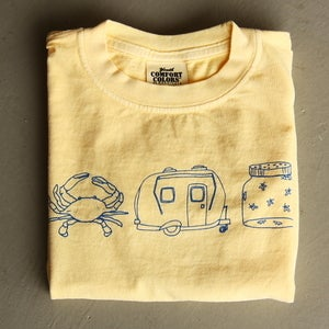 Image of Summer Medley Butter Yellow Tee