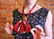 Plaid &amp; Paisley Red Ultimate Lady Tie 