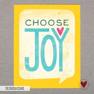 Image of Choose Joy — 8x10 Print