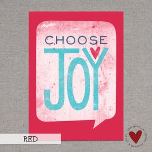 Image of Choose Joy — 5x7 Print